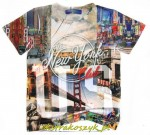 672...Xero...t-shirt *NEW YORK* 104/110red