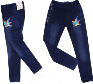 69A tregginsy jeansy *BIRD* 8Y legginsy