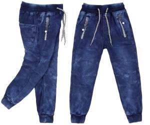 Spodnie z dzianiny dresowej, chłopięce wizytowe Ekstrakoszyk
