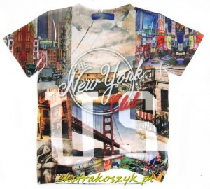 672...Xero...t-shirt *NEW YORK* 122/128red