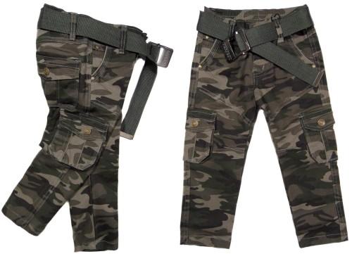 chłopięce spodnie MORO bojówki 055 SKAUT 104 khaki